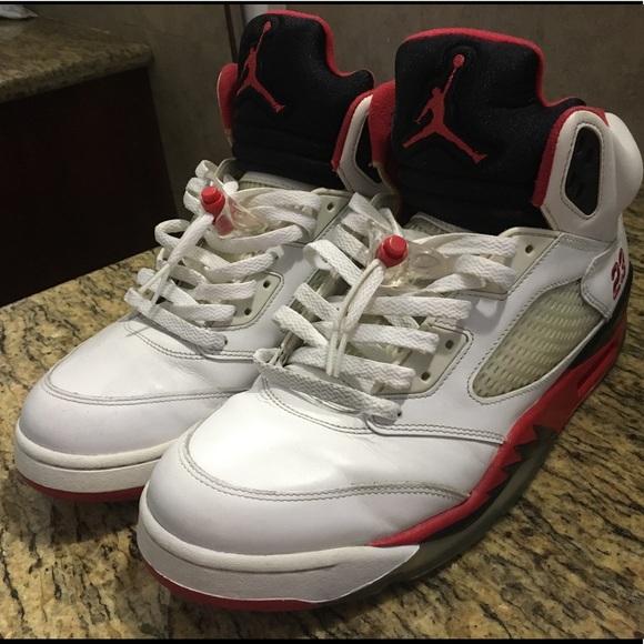 online store 57b63 b42f3 Jordan 5 Fire Red Size 12